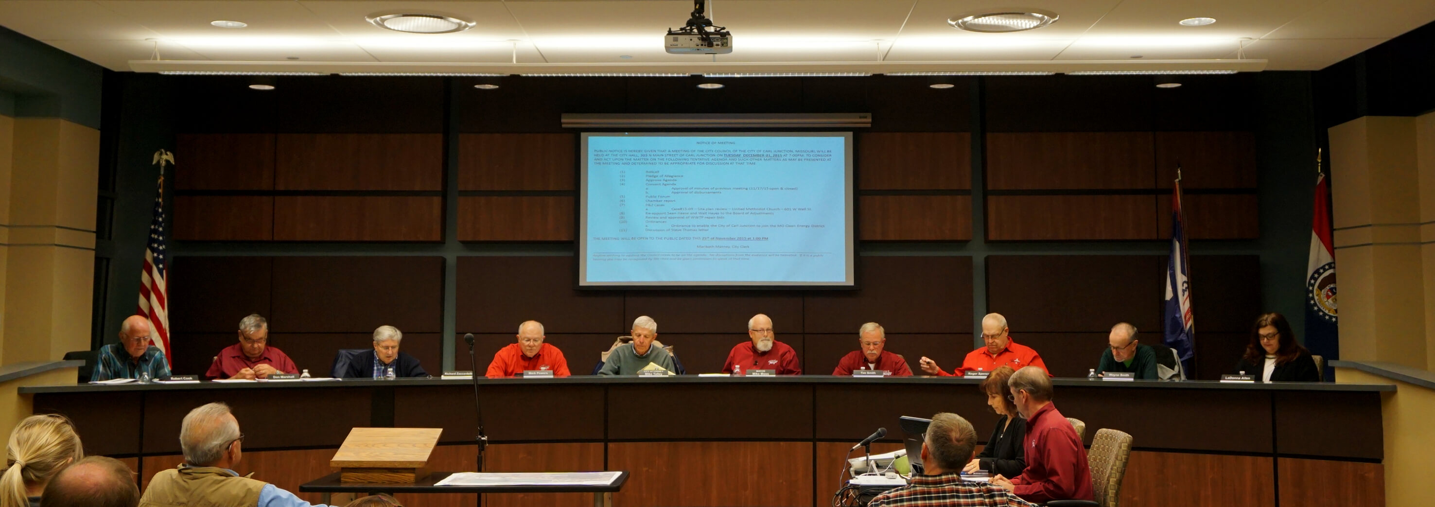 City Council Meeing