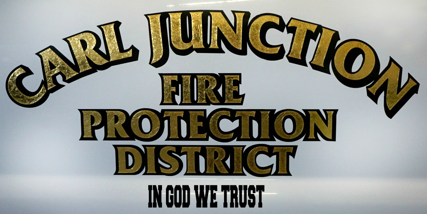 CarlJunctionFireProtection - In God We Trust